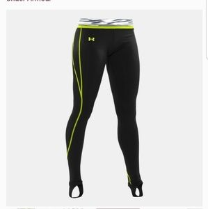 Under Armour Coldgear Fitted Hit Print Leggins